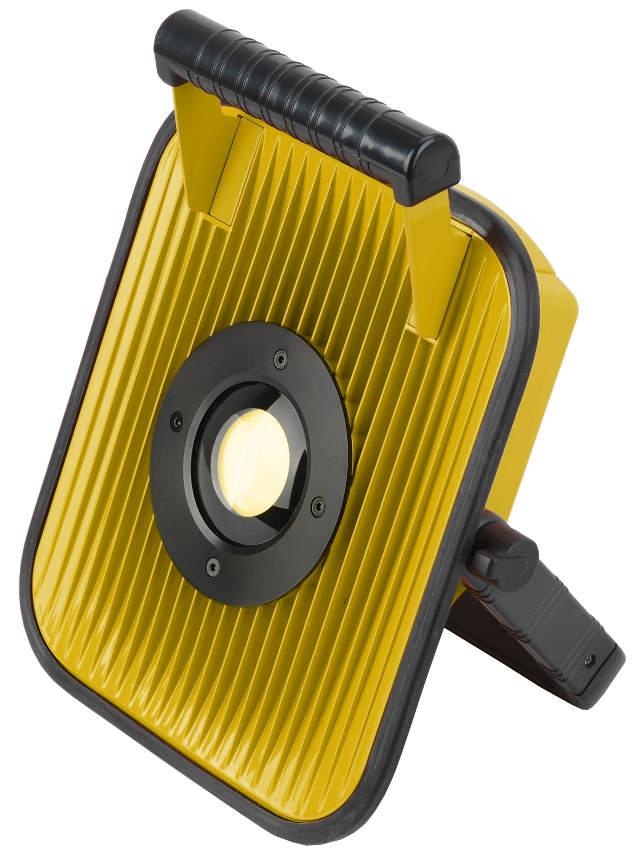Neu LED Baustrahler Akku Strahler Bluetooth Lautsprecher 30W Lampe  MY56