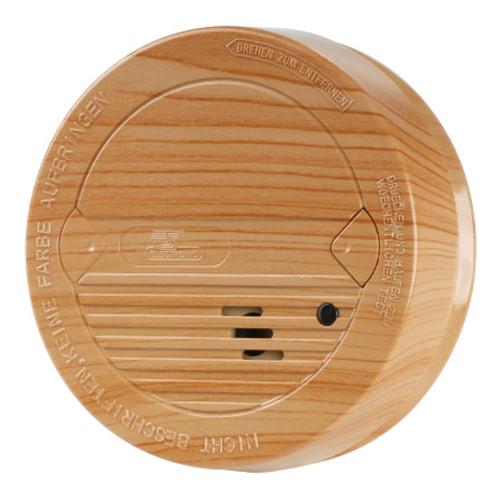 rauchmelder holz buche vds 14604 10 jahre lithium brandmelder feuermelder 85db ebay. Black Bedroom Furniture Sets. Home Design Ideas