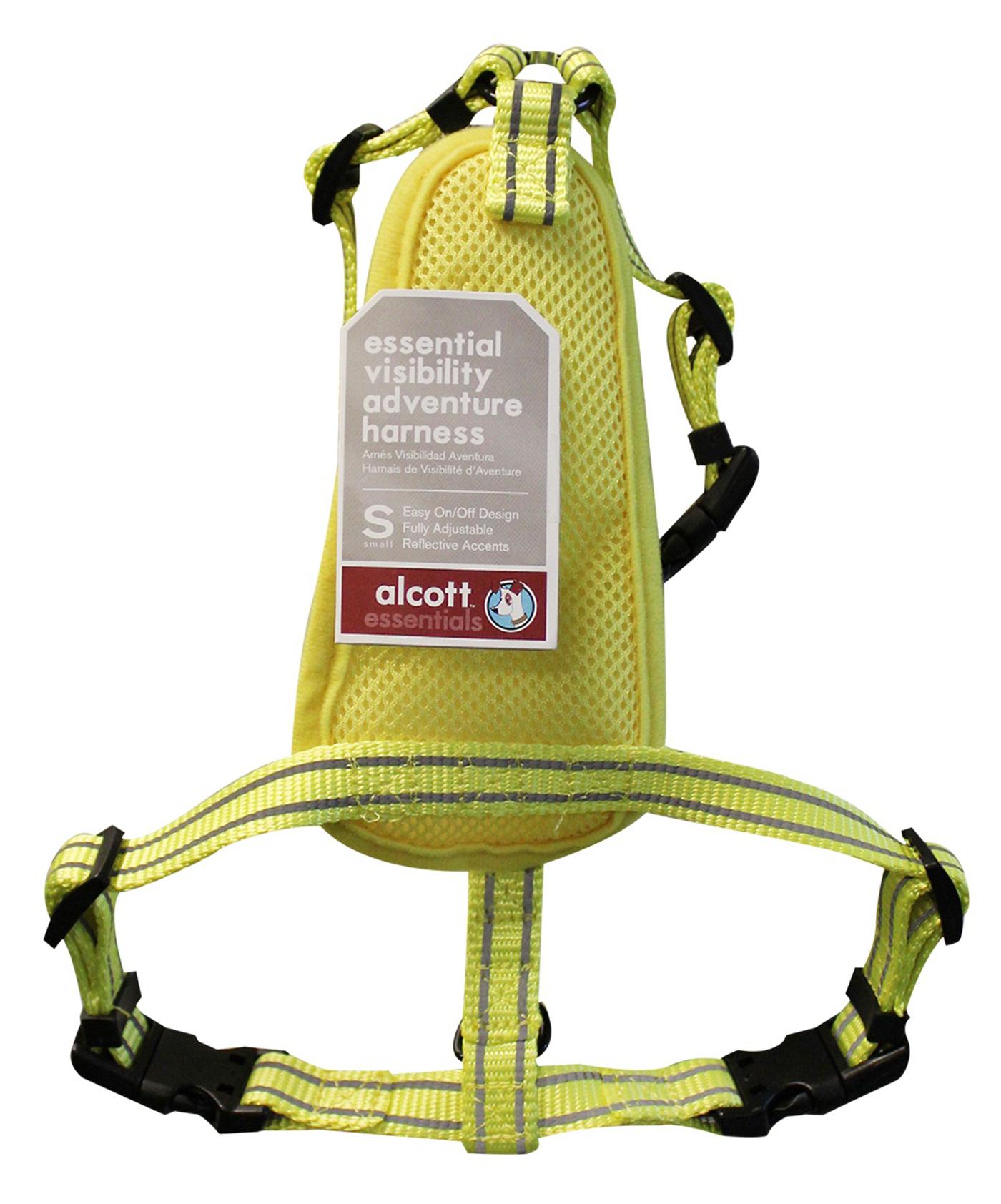 Alcott Essentials Neon Geschirr Hund S M L Brustgeschirr  ~ X Geschirr Hund